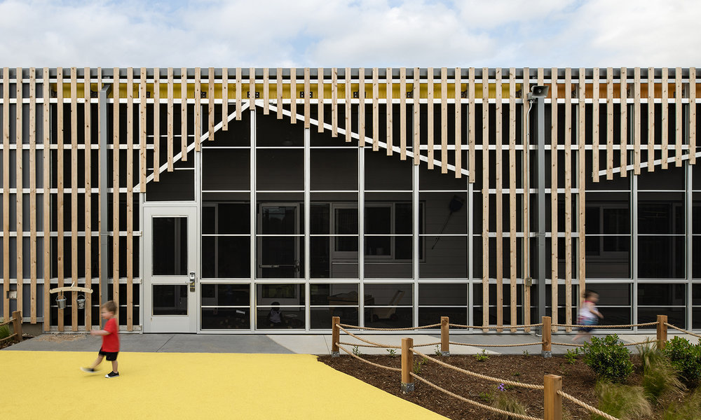 Helen R. Walton Children's Enrichment Center + Early Childhood Initiatives Center. Image: LTL Architects.