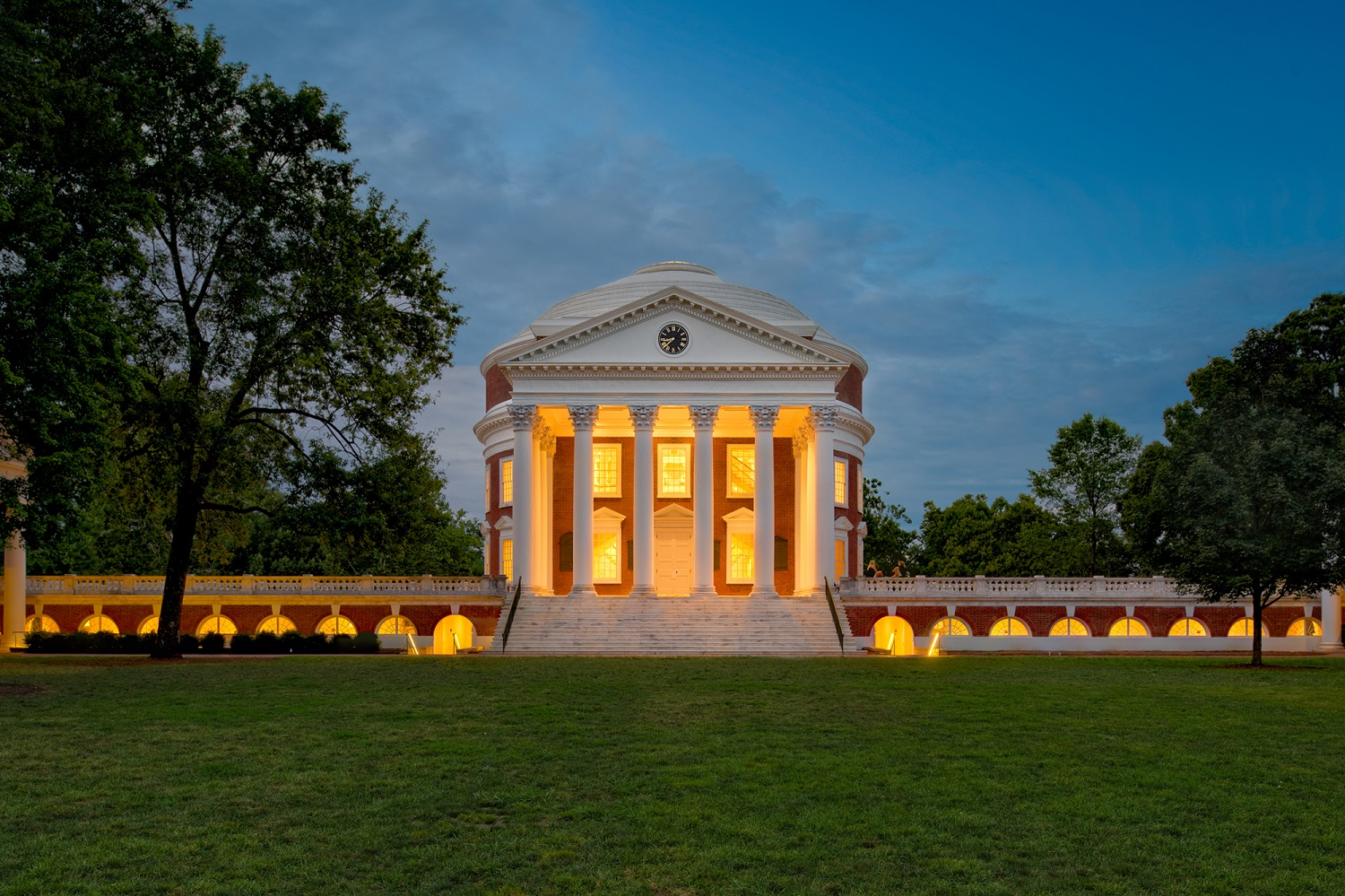 Thomas Jefferson's Rotunda at the University of Virginia, Charlottesville, VA. Restoration by John G. Waite Associates. Image: Anna Wesolowska Photography