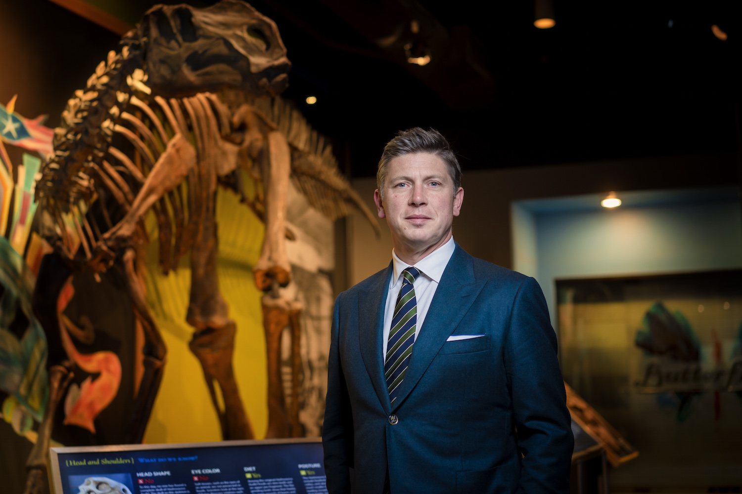 Scott Cooper, PhD, President and CEO, The Academy of Natural Sciences of Drexel University. Photo by: Jeff Fusco